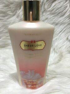 Victoria's Secret Hydrating Body Lotion Sheer Love 8.4 oz Rare discontinued Bs42