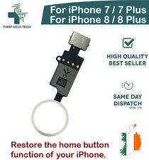 iPhone 7 8 Plus Home Button Function Restore YF 4th Gen Flex No Bluetooth White
