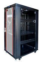 27U Server Rack Cabinet 32 Inch Deep IT Data Network Rack Enclosure