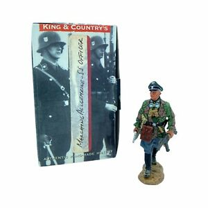 King & Country 2008 Marching Waffen SS Officer WS114 RETIRED READ
