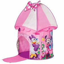 DISNEY MINNIE MOUSE HAPPY HELPERS POP UP PLAY TENT KIDS PINK