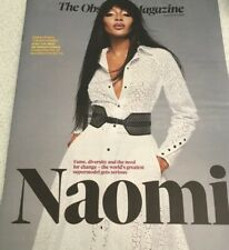 NAOMI CAMPBELL UK Observer 16 August 2020 Sunday Times 3 May 2020