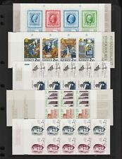 Sweden - Booklets from 1983-87, cat. $ 62.25