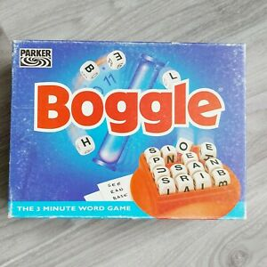Boggle Word Game -The 3 Minute Word Game 1996 Parker Brothers