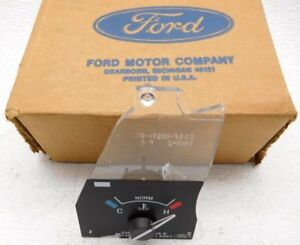 New Old Stock OEM Ford Thunderbird Temperature Gauge F4SZ-10883-A