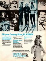 Lake Geneva Playboy Country Club Ski Your Country Place 1978 Vintage Print Ad