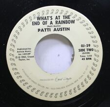 Rock Nm! 45 Patti Austin - What'S At The End Of A Rainbow / In My Life On Cti Re