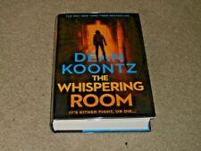 DEAN KOONTZ: THE WHISPERING ROOM: VF/VF SIGNED UK 1ST EDITION HARDCOVER 1/1
