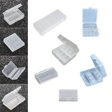 1x Portable Hard Plastic Multiple models Battery Case Holder Storage Box