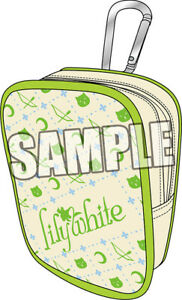"""""""Love Live!"""" Multi Pouch with Carabiner lily white BY Broccoli 4510417309628"""