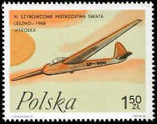 Scott # 1587 - 1968 - ' Swallow ', Polish Gliders