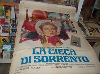The Blind By Sorrento Manifesto 2F Original 1963