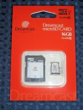 NEW SEGA Hard series Dreamcast microSDHC card 16GB & SD adapter set JAPAN F/S