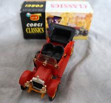 CORGI CLASSICS #9021 1910 DAIMLER 38 4 DOOR RED DIE CAST MODEL CAR IN THE BOX