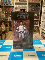 "2021 HASBRO STAR WARS THE BLACK SERIES CLONE COMMANDER WOLFFE 6"" FIGURE"