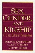 Sex, Gender, and Kinship: A Cross-Cultural Perspective, Ember, Melvin R., Ember,