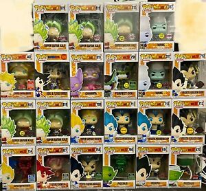 Dragon Ball Z Funko Pop Vinyl Dragon Ball Super Chase SDCC NYCC FREE Protector