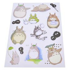 1 Sheet Kawaii Totoro Stickers Japanese Anime Decal Home Decoration Luggage DIY