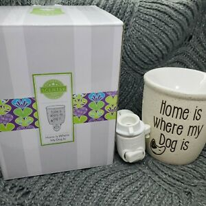 Home Is Where My Dog Is Mini Scentsy Warmer New In Box NIB