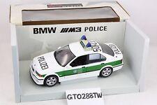 UT Models 1:18 scale BMW E36 M3 sedan 1997 - Germany Police Car(Polizei)