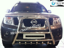 NISSAN NAVARA PATHFINDER D40 BULL BAR CHROME 6-AXLE NUDGE A-BAR 2010+Up EMPEROR