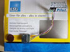ESU 54620 LokPilot Fx V4 Funktionsdecoder Kabel + 8pol. Stecker *NEU & OVP*