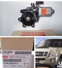 Isuzu Rodeo Front Right Electric Power Window Motor D-MAX 2003-10 GENUINE PARTS