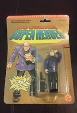 "New 1989 DC Comics Super Heroes Lex Luthor Figure 4 1/2"" Power-Punch Toy Biz"
