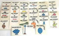 "Vintage ""Mr."" Childrens Kids Books by Roger Hargreaves Lot of 39"