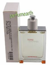 Terre D'Hermes Eau Tres Fraiche Tster by Hermes 2.5 oz/75 ml EDT Spray Men Tster