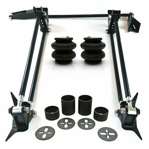 """Weld On Parallel 4 Link Suspension Hot Rod Rat Truck Classic Car Air Ride Kit 3"""""""