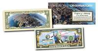 ONE WORLD OBSERVATORY Colorized $2 Bill U.S. Legal Tender WORLD TRADE CENTER WTC