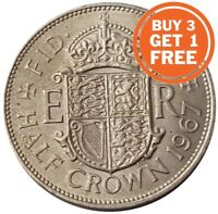 HALF CROWN ELIZABETH 2ND COIN CHOICE OF YEAR 1953 TO 1967