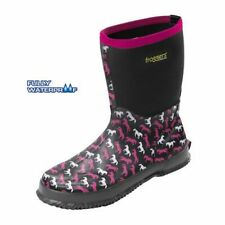 Froggers Scrub Boots, Womens in Horse Print