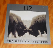 U2 The Best of 1990-2000 Poster 2-Sided Flat Square Promo 12x12