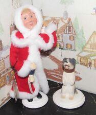 BYERS CHOICE Christmas Illustrations Fido Christmas w Hang Tag  2007  *