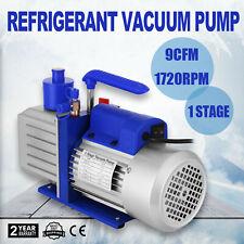 9CFM 1 Stage Refrigerant Vacuum Pump 1720rpm 3/4 HP Aluminum STRICTLY STANDARD