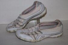 Skechers Bikers Grapevine Casual Shoes, #21361, Wht/ Lt Pink, Women's US 7.5
