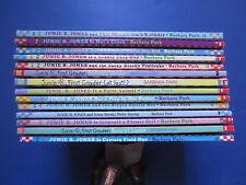 Lot 14 Barbara Park Novels: Junie B. Jones and the Yucky Blucky Fruitcake (PB)