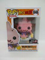 Funko Pop Dragon Ball Z Majin Buu with Chocolate Bar 846 GameStop Exclusive