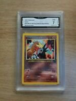 ENTEI GMA 7 NM 2001 Pokemon #34 Movie Release Black Star Promo Reverse Holo