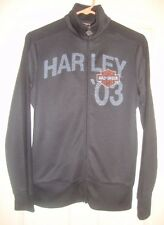 HARLEY/DAVIDSON~lady~EMBROIDERED/ZIPPERED/FRONT/FLEECE/LINED/SWEATSHIRT! (M) @@