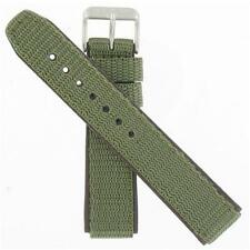 Hamilton 20mm Green Nylon/Brown Leather Khaki Field Series Watch Band H600684101