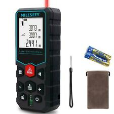 Handheld Digital Laser Point Distance Meter Tape Range Finder Measure 80m 262 FT