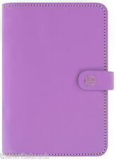 The Filofax  Original Organizer Personal LILAC Leather - Made in UK - 2018 Diary