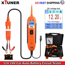 12V 24V Car Battery Power Probe Auto Circuit Tester Electrical System Powerscan