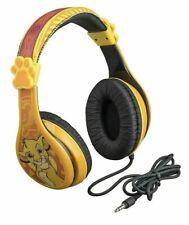 Disney LION KING Stereo Headphones Android & IOS Kids Adjustable 3.5mm Jack NEW