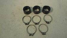 1978 Yamaha XS750 XS 750 Special Y284. carb intake air boots and clamps