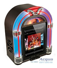 Jukebox Speaker Dock for iPad iPhone iPod w/ Line in for Smart Phone, Mp3 Player