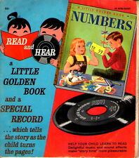 Little Golden Bk & Record #00167 Numbers  45 RPM 1955